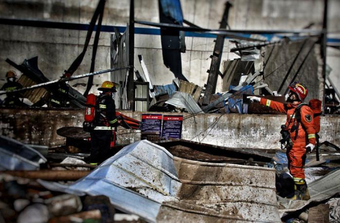 Çində bazar partladı: 11 nəfər öldü, 144 yaralı var