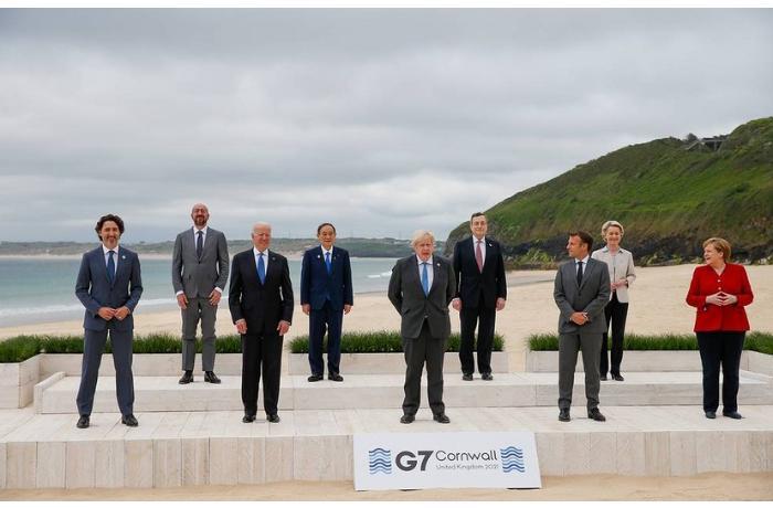 G7 liderlərindən Çinə uyğur türkləri və COVID-19-la bağlı ÇAĞIRIŞ