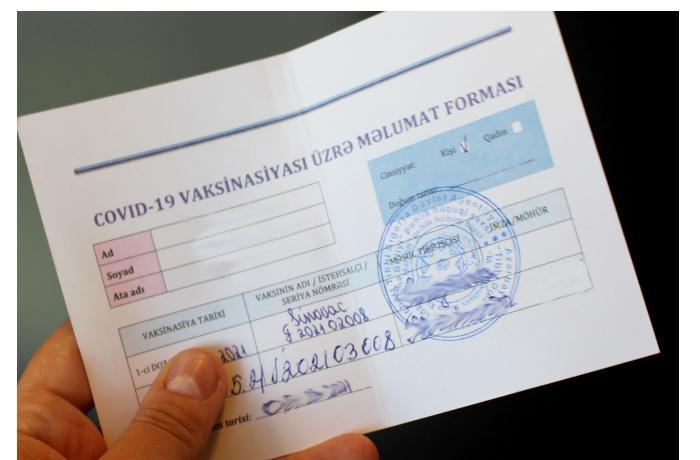 COVID-19 pasportu — Bizə hansı üstünlükləri verəcək?