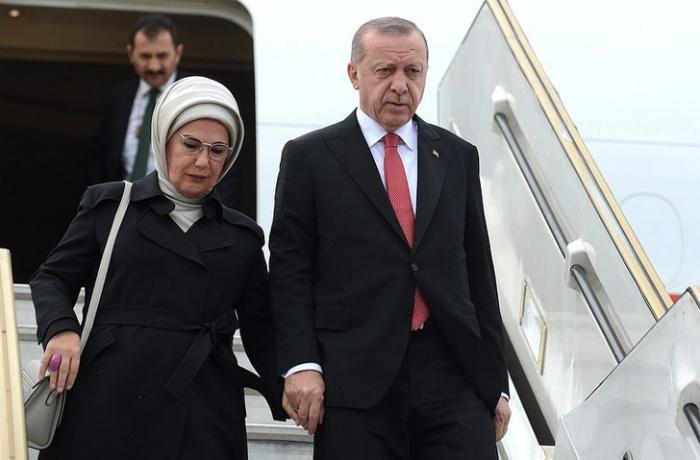 Rəcəb Tayyib Ərdoğan Azərbaycana səfərə gəldi — FOTOLAR