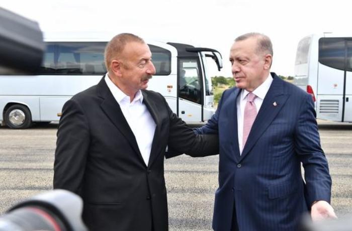 Azərbaycan və Türkiyə prezidentləri Şuşada — VİDEO