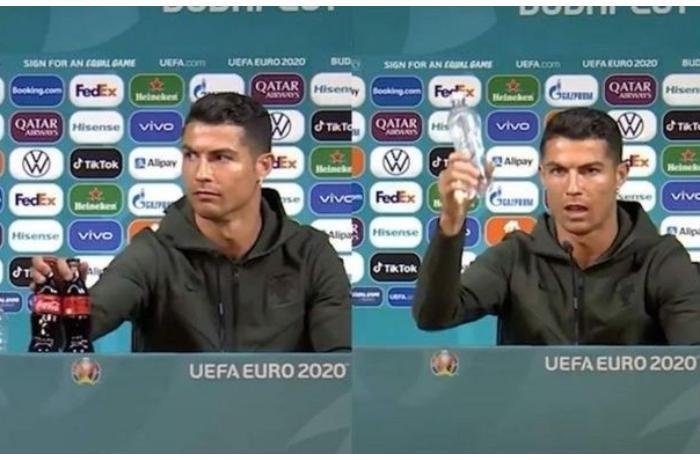 """UEFA-dan futbolçulara tələb: """"Masadakı içki şüşələrinə toxunmayın"""""""