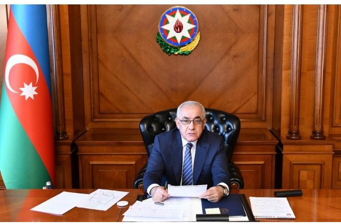 Baş nazir Ermənistanın vurduğu ziyanın aradan qaldırılması üçün tapşırıqlar verdi