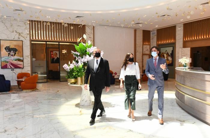 """İlham Əliyev Bakıda """"Intercontinental"""" otelinin açılışında iştirak etdi — YENİLƏNİB"""