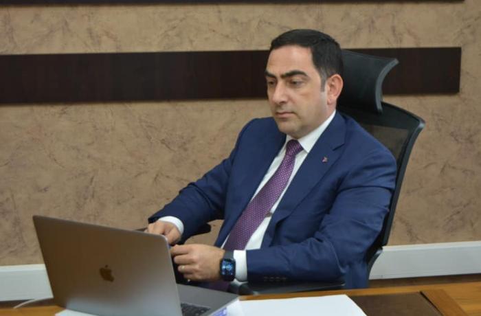 Taleh Ziyadov CAMCA regional forumunda çıxış edib — FOTO