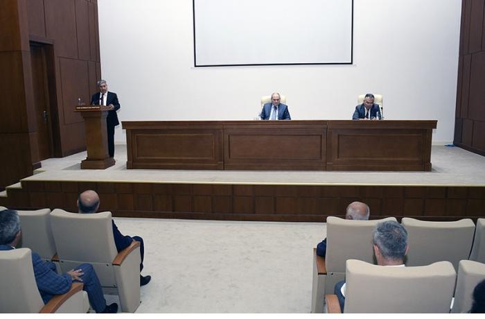 YAP-ın Həmkarlar İttifaqı Komitəsinə yeni sədr seçildi — FOTOLAR