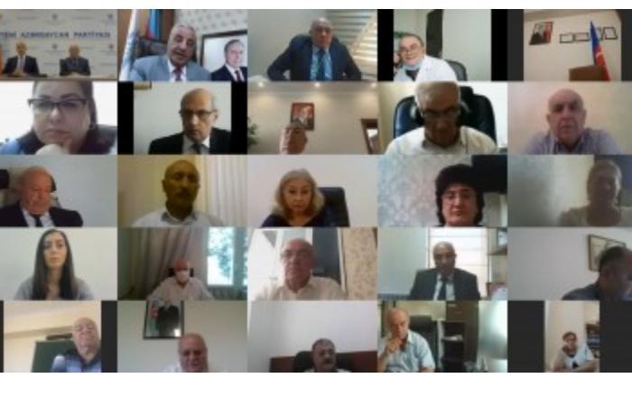 Yeni Azərbaycan Partiyası Yasamal rayon təşkilatının XI hesabat konfransı keçirilib — VIDEO