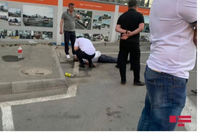 Bakıda yol vermədiyi üçün sürücünü döyərək öldürən şəxsin FOTOSU