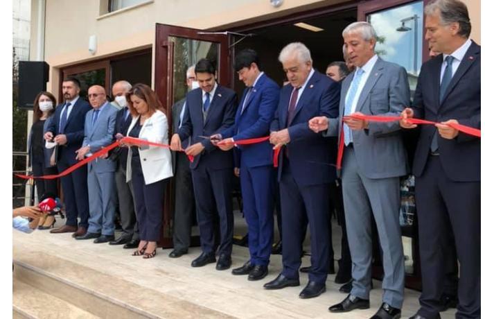 Türkiyədə Azərbaycan Evi və Şuşa Konfrans Mərkəzi açıldı — FOTOLAR