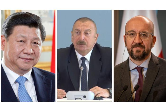 Si Cinpin və Mişelin Bakıya zəngi: Azərbaycan qlobal proseslərdə aparıcı ölkəyə çevrilib