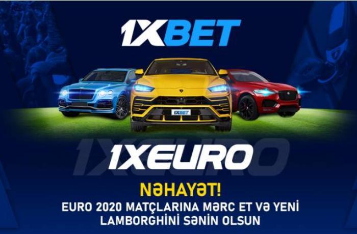 1.000.000 dollar mükafat fondu ilə yeni 1xBet aksiyasında Lamborghini, Bentley və Jaguar super avtomobillərini qazanın!
