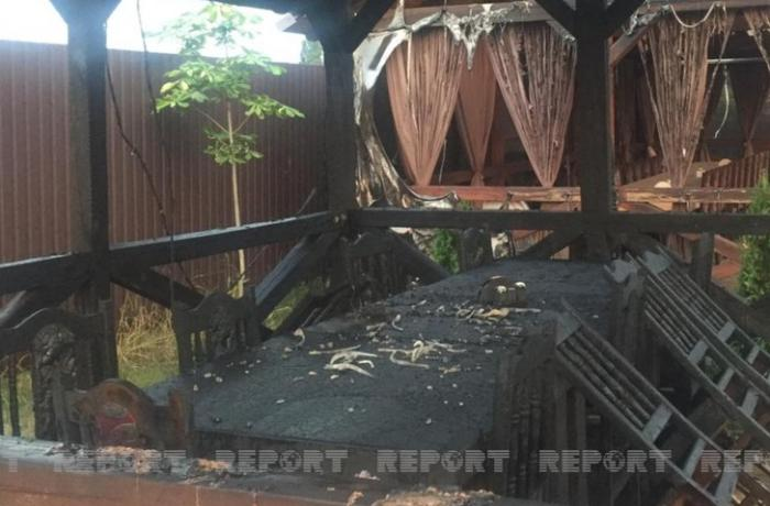 Ukraynada azərbaycanlı iş adamının mülkü ardıcıl yandırılır — VİDEOREPORTAJ