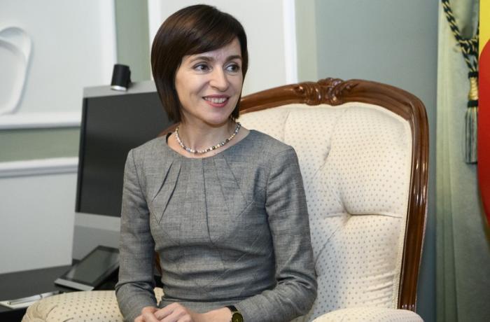 Moldova prezidenti Gürcüstana gəldi