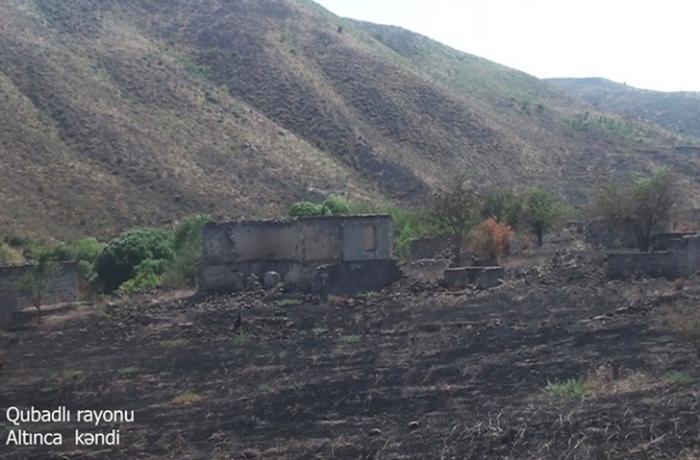 Qubadlının Altınca kəndinin görüntüləri — VİDEO