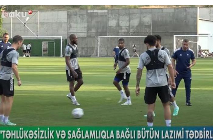 """""""Qarabağ"""" avrokuboklarda ilk matçına necə hazırlaşır? — VİDEO"""
