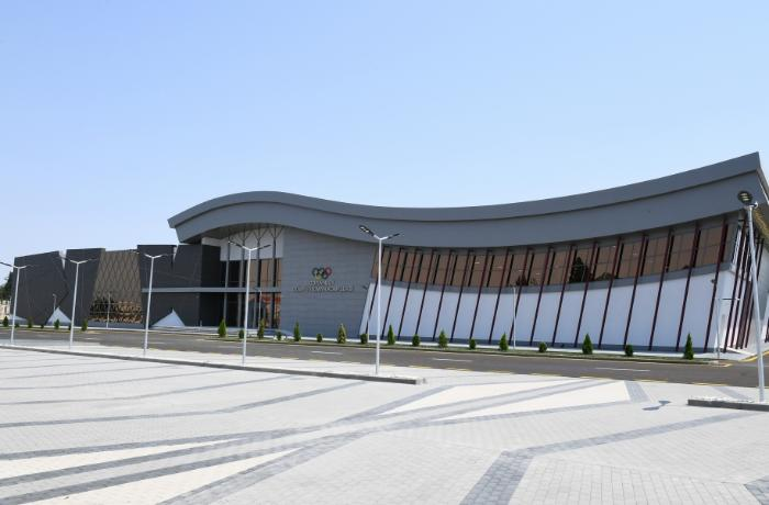 Goranboy Olimpiya İdman Kompleksinin açılışı oldu — FOTOLAR