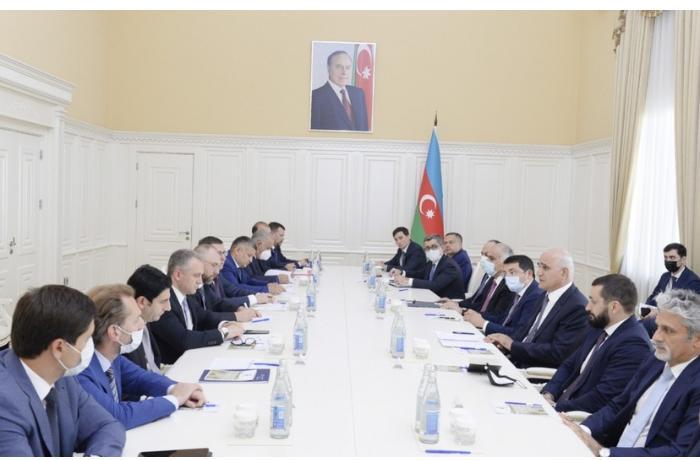 Şahin Mustafayev Rusiyanın naziri müavini ilə görüşdü