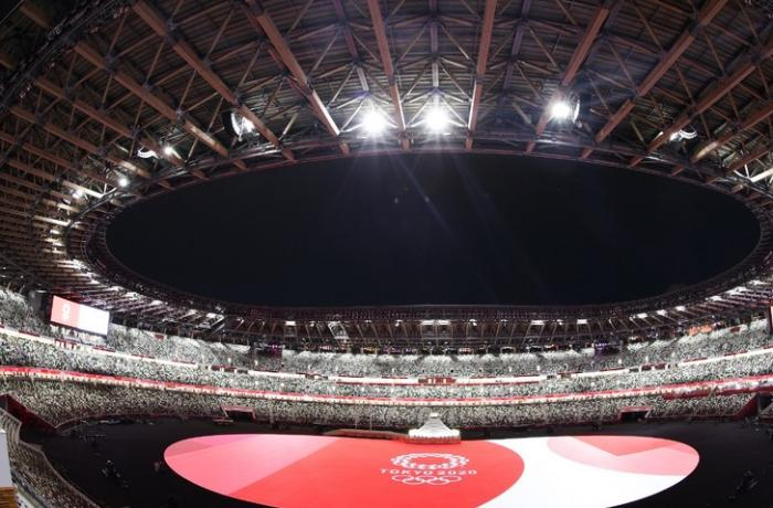 Tokio olimpiadasının açılış mərasimi başladı
