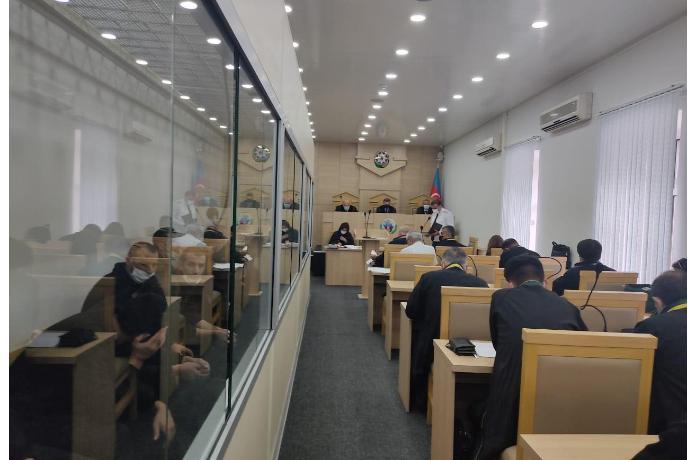 Prokuror ermənilərdən ibarət terrorçu silahlı birləşmənin 13 üzvünə cəza istədi