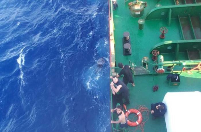 Kapitanı azərbaycanlı olan gəmi 32 suriyalı miqrantı xilas etdi — VİDEO