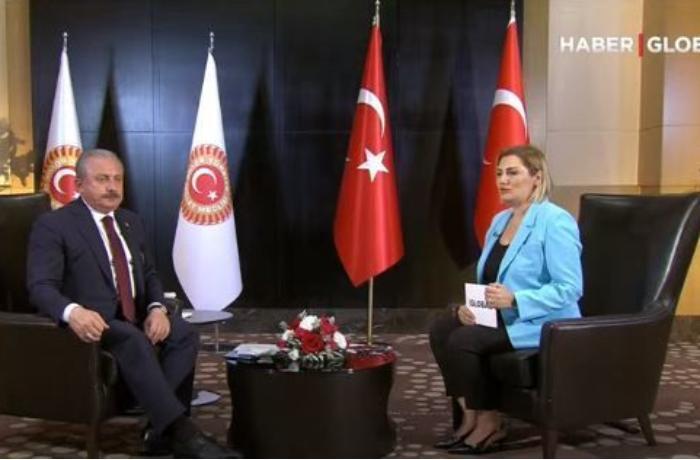 """Mustafa Şəntop """"Haber Global""""ın efirində Azərbaycan səfərini dəyərləndirdi — VİDEO"""