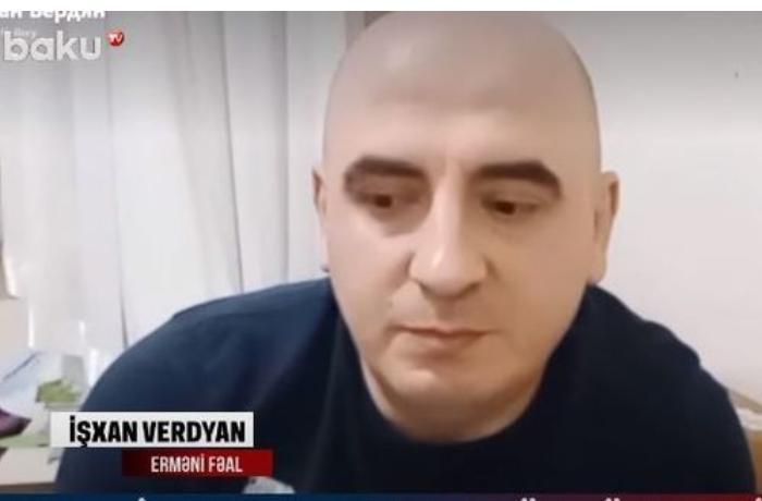 Erməni fəal Azərbaycan telekanalından öz hökumətinə səsləndi — VİDEO