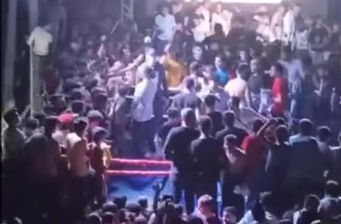 Bakıda döyüş təşkil edən şəxs saxlanıldı — VİDEO
