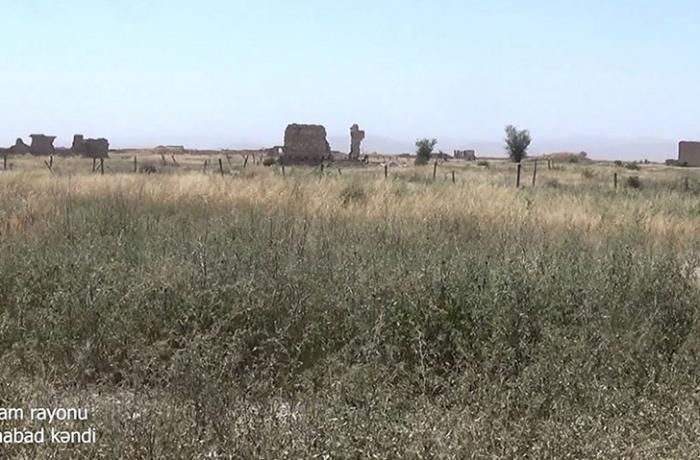 Ağdamın Şuraabad kəndindən görüntülər — VİDEO