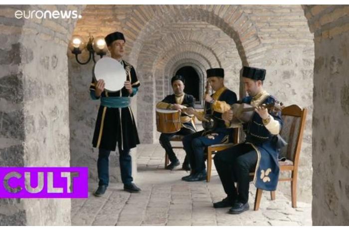 """""""Euronews"""" telekanalında Azərbaycan muğamı barədə süjet yayımlanıb — VİDEO"""