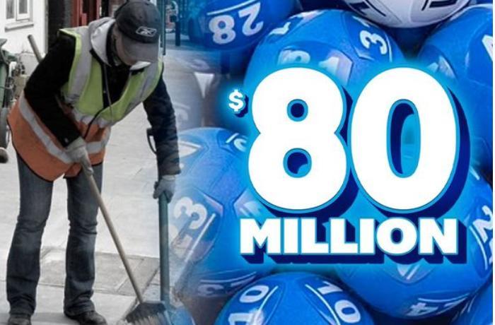 Avstraliyalı süpürgəçi lotoreyada 80 milyon dollar qazandı