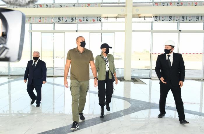 Mehriban Əliyevadan Füzuli aeroportu ilə bağlı PAYLAŞIM