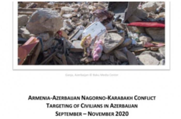 Ermənistanın hərbi cinayətləri barədə hesabat hazırlandı