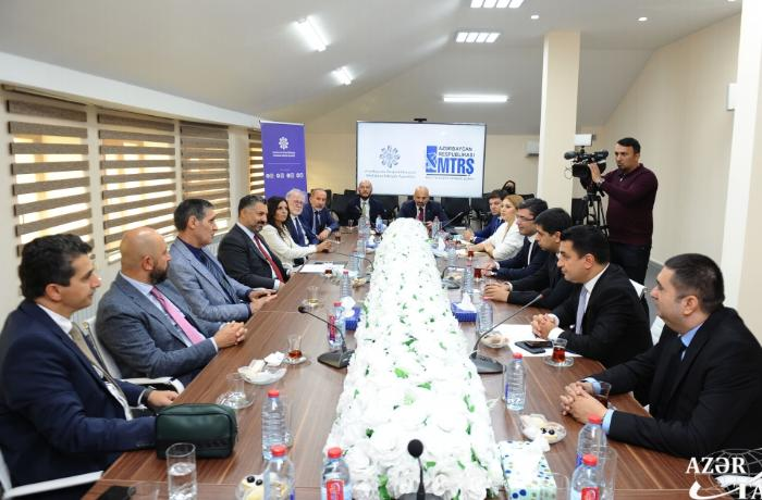 Media sahəsində Azərbaycan-Türkiyə əlaqələri gücləndirilir — FOTOLAR