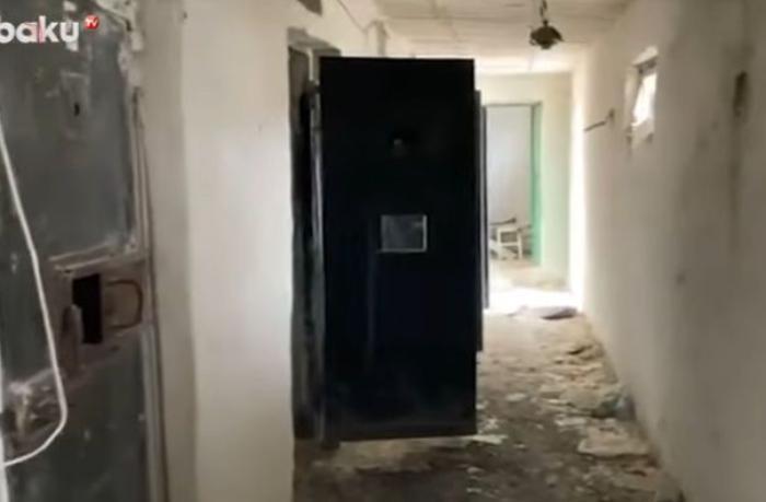 Şuşa həbsxanasının son görüntüləri — VİDEO