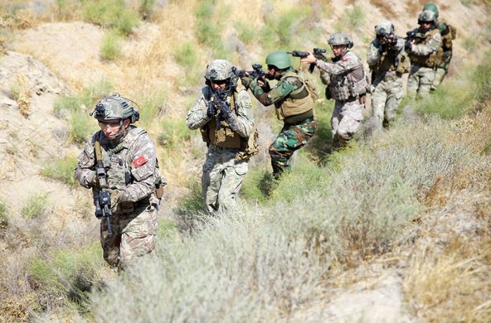 Azərbaycan, Türkiyə və Pakistan xüsusi təyinatlılarının təlimi davam edir — VİDEO