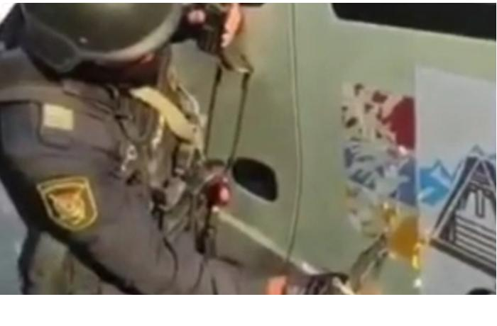 Azərbaycan polisi erməni sürücüyə görün nə etdi— VİDEO