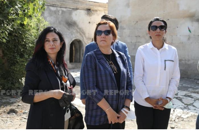 İƏT nümayəndə heyəti Ağdamda faktaraşdırıcı missiya həyata keçirdi — FOTOLAR