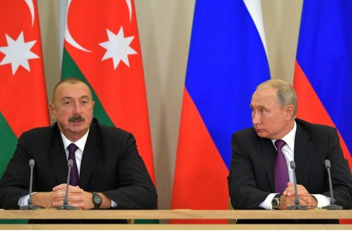 İlham Əliyev Rusiya prezidentinə başsağlığı verdi