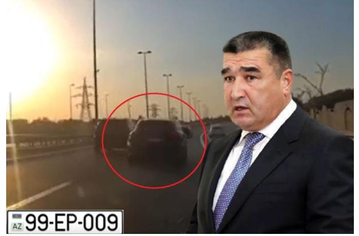 "Etibar Pirverdiyevin oğlu Bakıda ""Porsche"" ilə ""avtoş""luq etdi — VİDEO"