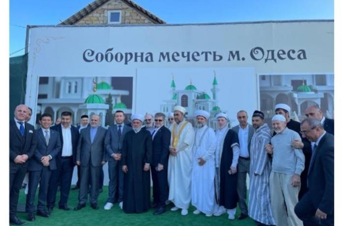 Ukraynanın Odessa şəhərində yeni məscidin təməli qoyuldu