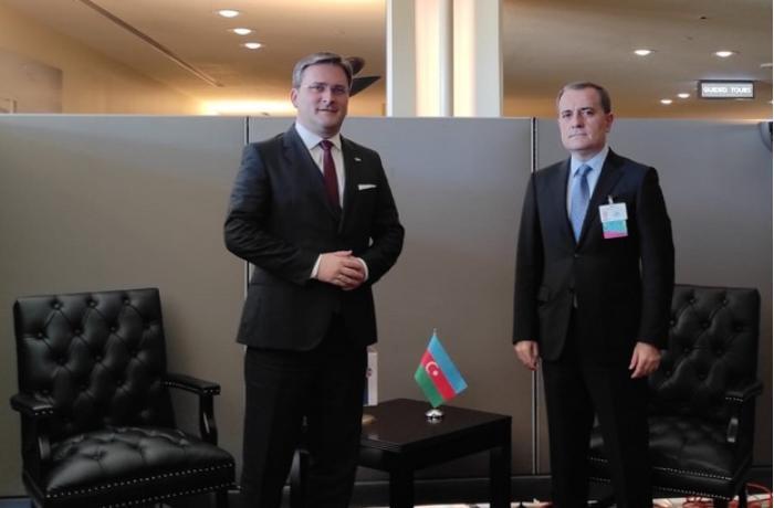 Azərbaycan və Serbiyanın XİN başçıları görüşdü