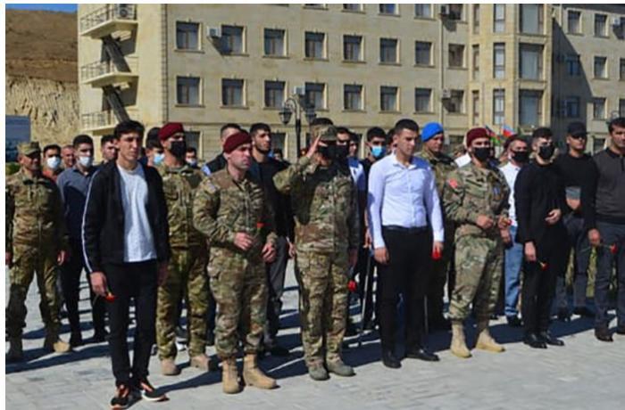 General Hikmət Mirzəyev veteranlarla görüşüb — VİDEO