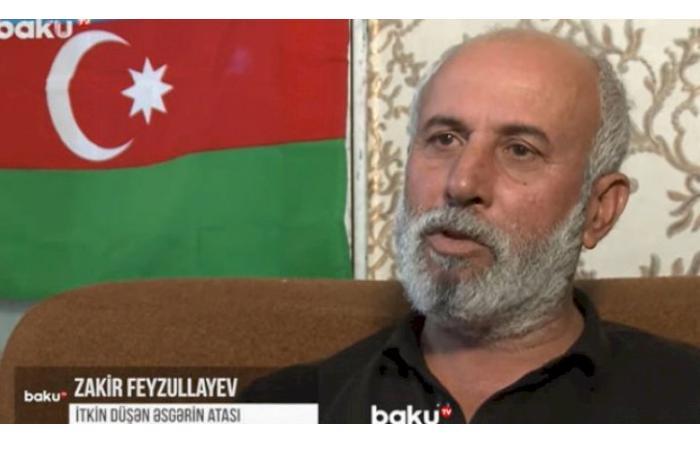 """İtkin düşən əsgərin atası: """"Qolsuz-ayaqsız gəlsin, təki sağ gəlsin"""" — VİDEO"""