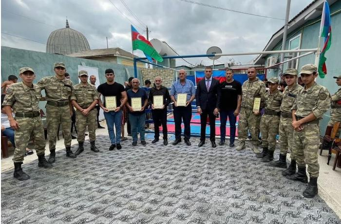 Salyanda kikboksinq üzrə rayon birinciliyi keçirildi — FOTO