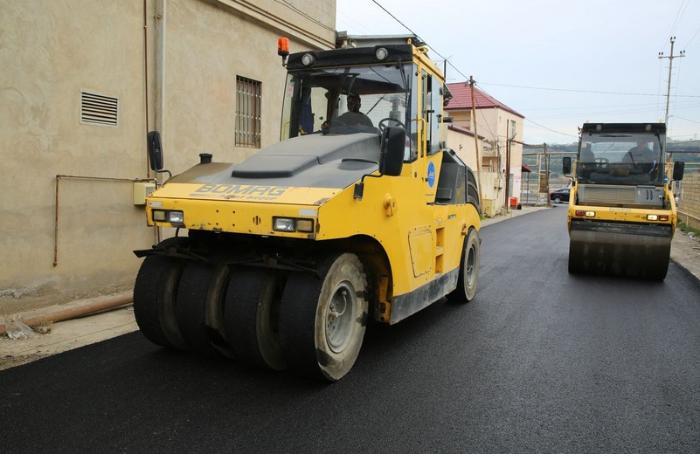 Suraxanıda avtomobil yollarının yenidən qurulmasına 6 milyon manat ayrıldı