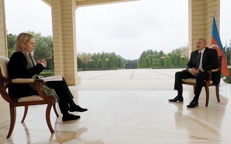 """Prezident İlham Əliyev """"BBC News""""a müsahibə verdi"""