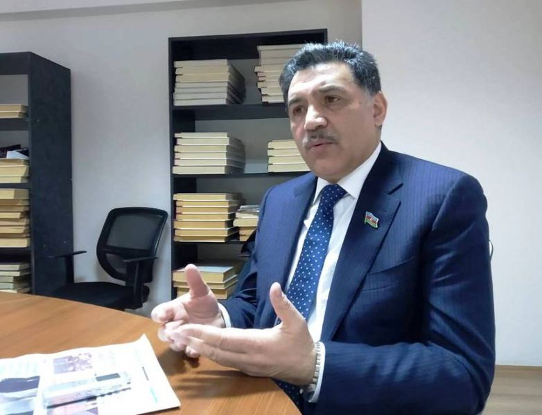 """Deputat:    """"Uğurlu hərbi əməliyyatlar strateji və taktiki baxımdan tarixə düşdü"""""""