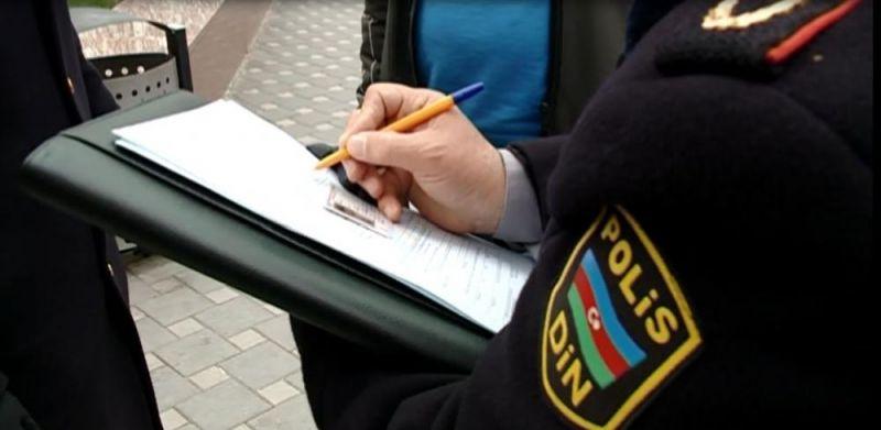 Yol polisi 100 milyona qədər cərimə yazıb