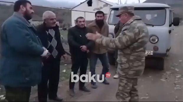 Ermənilər ordumuzdan kömək istədi      — VİDEO