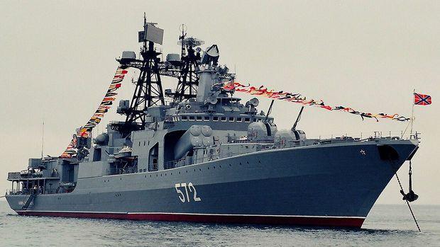 ABŞ gəmisi Rusiya dövlət sərhədini pozdu